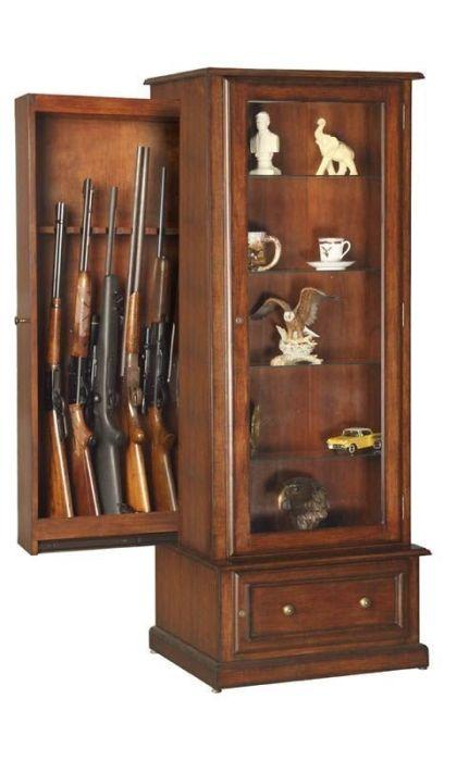 Креативная мебель для хранения оружия (30 фото)