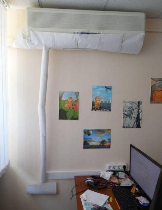 Креативные решения бытовых проблем (46 фото)