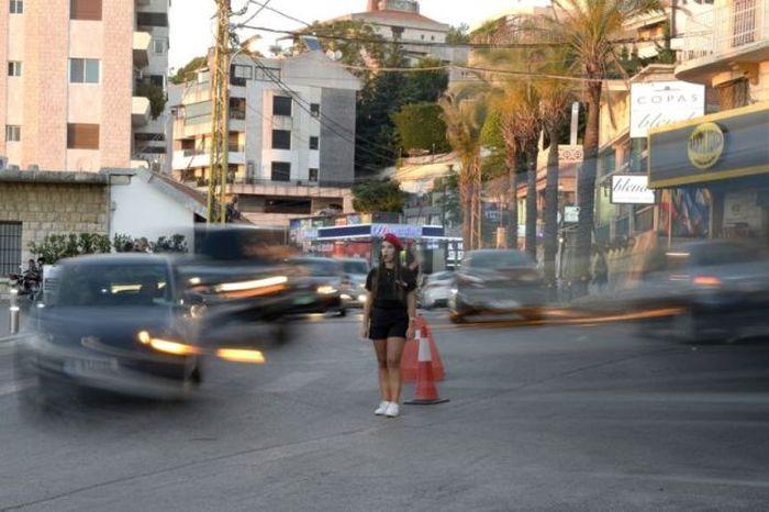 Летняя форма девушек-полицейских в Ливане (10 фото)