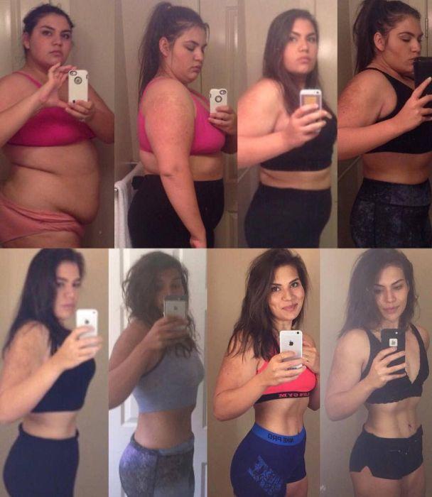 4 года усердного труда превратили 140-килограммовую девушку в стройную красотку (13 фото)