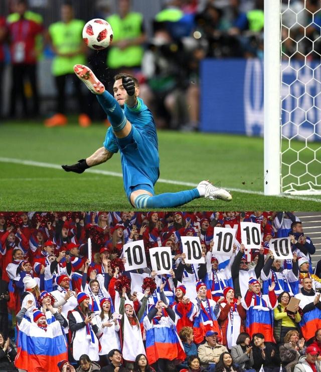 Реакция социальных сетей на победу сборной России над Испанией (26 фото)