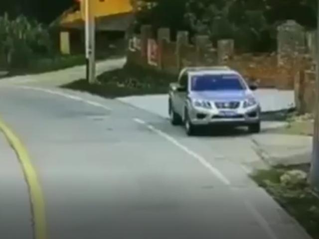 Неожиданный сюрприз на дороге