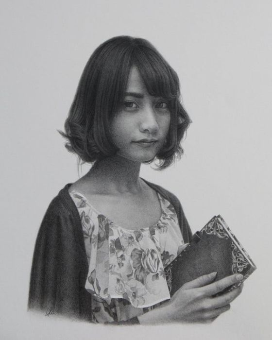 Необычные портреты (12 фото)