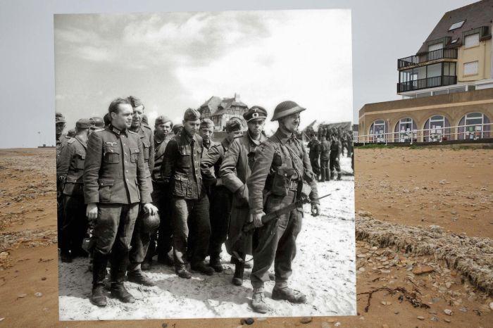 Эхо войны: тогда и сейчас (10 фото)