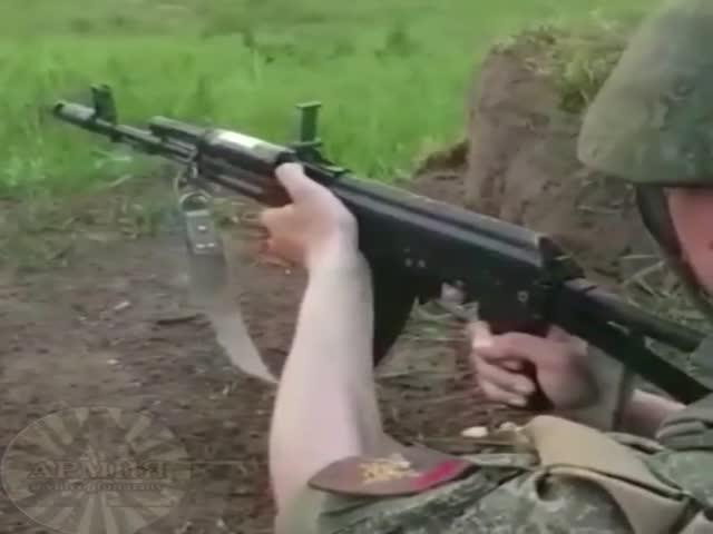 Тем временем на армейском стрельбище