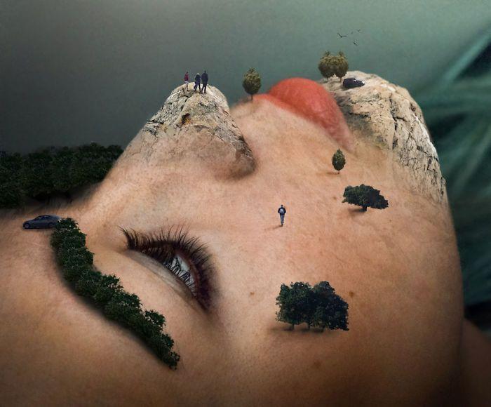 Удивительные картины, созданные в фотошопе (20 фото)