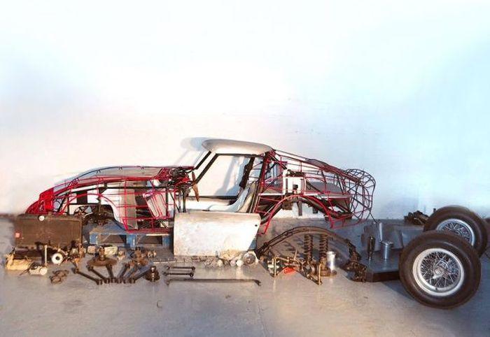 В морском контейнере нашли детали раритетной Ferrari 250 GTO (11 фото)