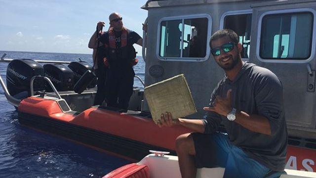 Необычный улов в Атлантическом океане (3 фото)