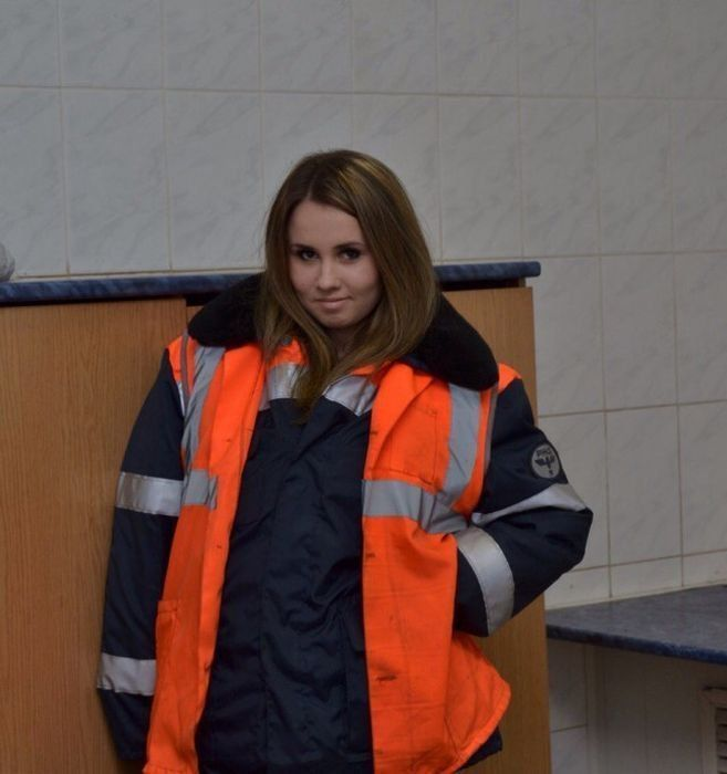 Очаровательные работницы железной дороги (28 фото)