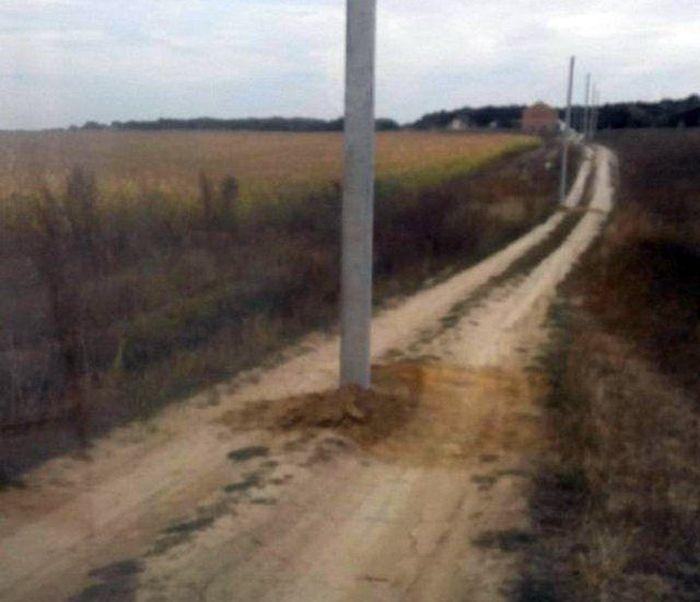 Юмор и фотографии с дорог нашей бескрайней (36 фото)