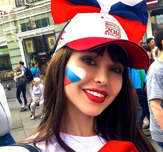 Мария Лиман - самая красивая российская болельщица по версии зарубежных СМИ (20 фото)