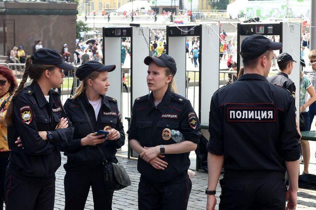 Столичная полиция в рамкам ЧМ 2018 (11 фото)