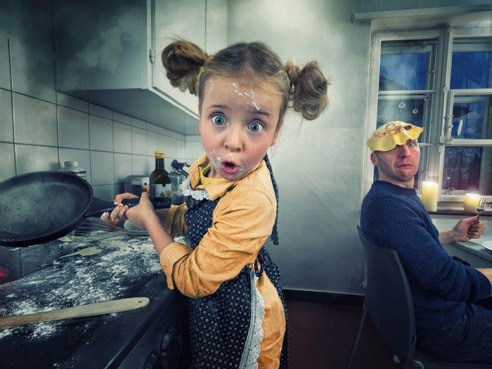 Когда отец любит редактировать снимки своих дочерей в фотошопе (20 фото)
