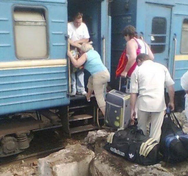 Ужасы отечественных поездов (30 фото)