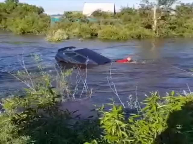 Несколько рек в Чите вышли из берегов, затопив села