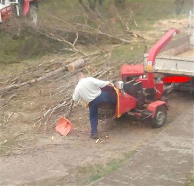 Когда опасная работа совсем не смущает (18 фото)