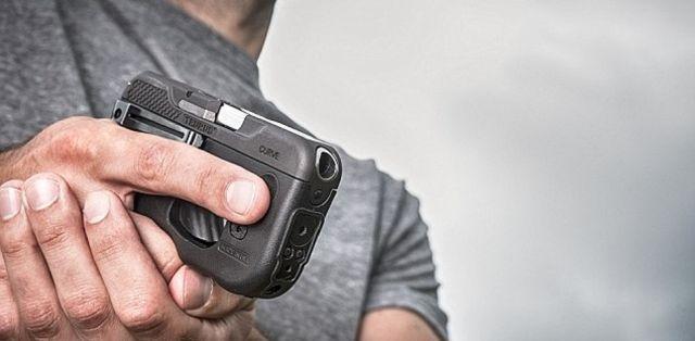 Необычный пистолет в виде смартфона (6 фото + видео)