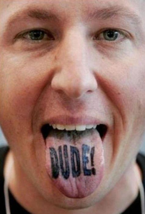 Татуировки на языке (20 фото)