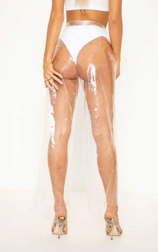 Модный приговор: прозрачные штаны (8 фото)
