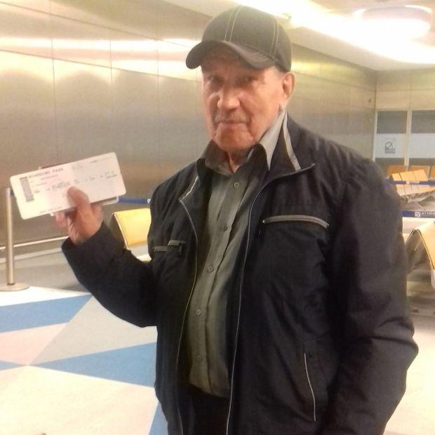 Пенсионер в 76 лет стал путешествовать по миру втайне от жены (фото)