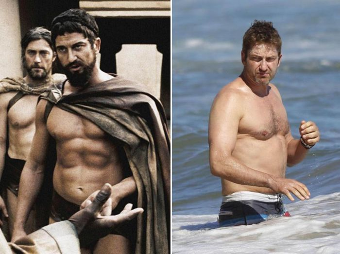 Знаменитые мужчины, которые утратили былую форму (12 фото)