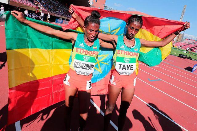 """""""16-летняя"""" эфиопка, взявшая бронзу на молодежном ЧМ по легкой атлетике (5 фото)"""