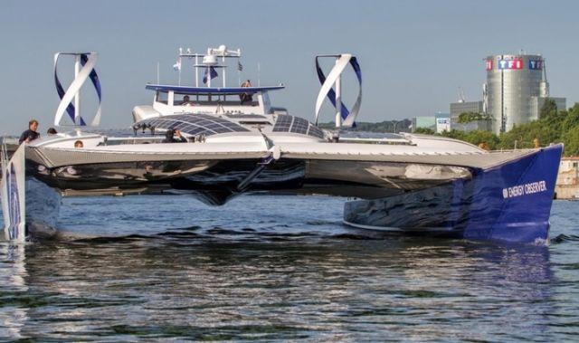 Toyota отправит в 6-летнее плавание свое судно, которое не требует дозаправки (5 фото)
