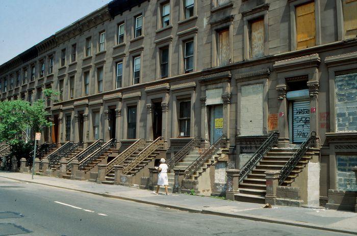 Фотографии Гарлема, Нью-Йорк, 1991 год (17 фото)