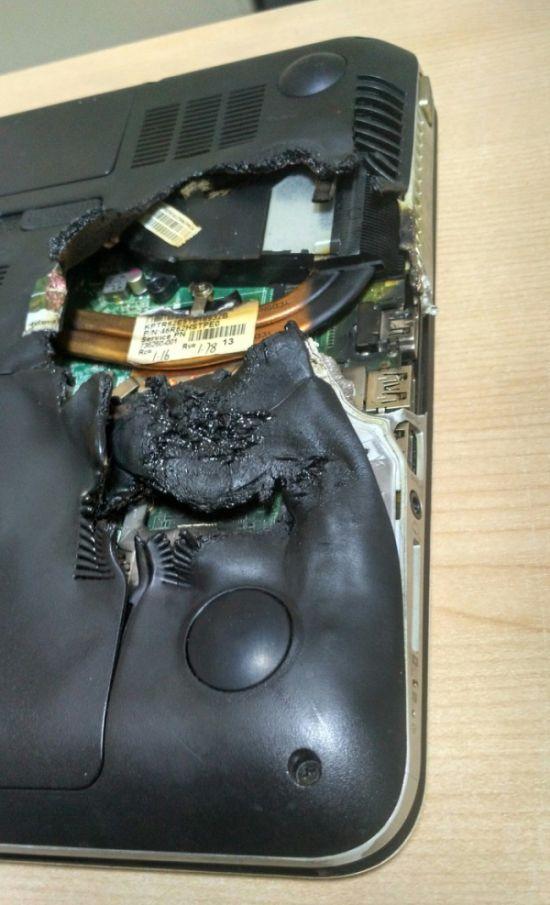 Когда в ноутбуке плохо работает клавиатура (3 фото)