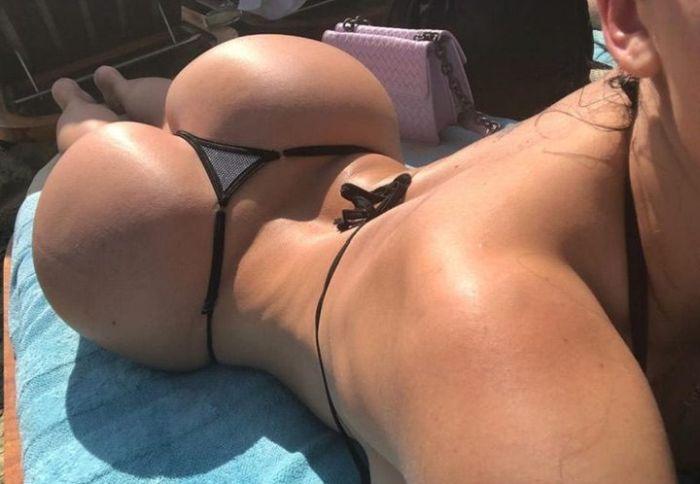 Венгерская порнозвезда Алетта Оушен удивила всех на пляже (8 фото)