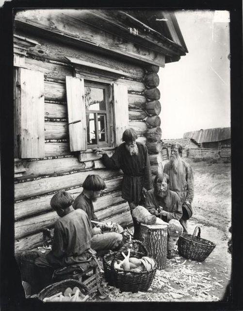 Крестьянская жизнь в Российской империи (29 фото)