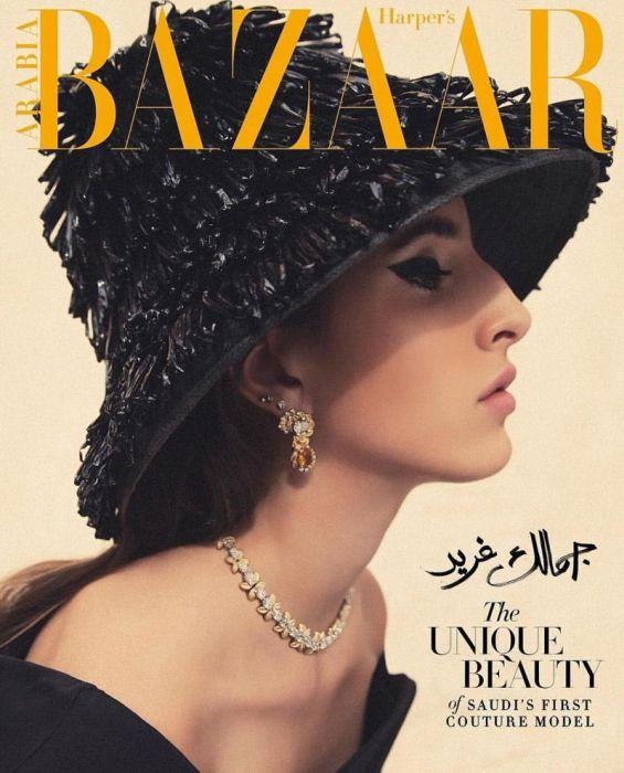 Первая модель из Саудовской Аравии принявшая участие в Неделе моды в Париже (14 фото)