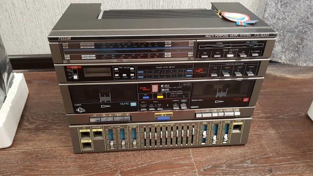 Абсолютно новая магнитола конца 80-х годов (6 фото)