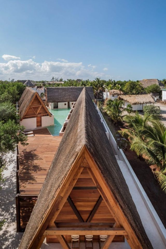 Необычный отель Punta Caliza в Мексике (10 фото)