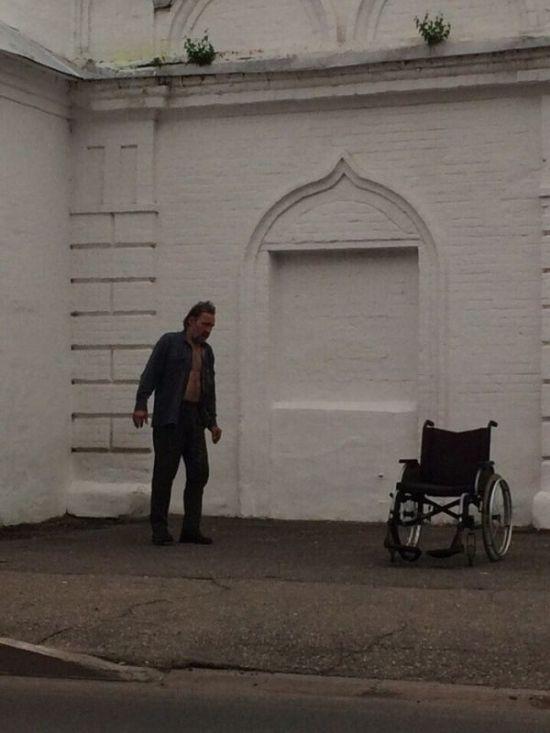 """""""Исцеление инвалида"""" или шарлатаны на улицах (4 фото)"""