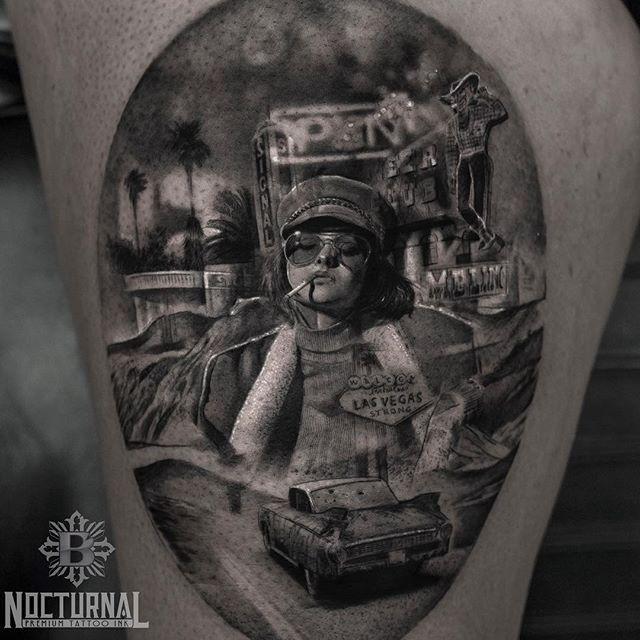 Невероятно реалистичные татуировки (22 фото)