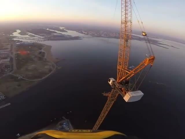 Когда ты любишь свою работу и не боишься головокружительной высоты