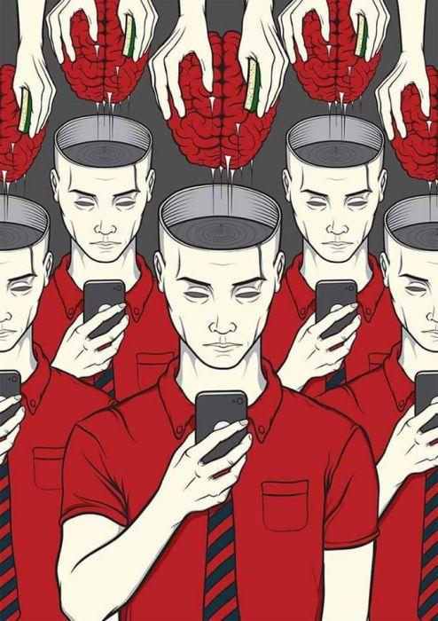 Пороки современного общества (19 картинок)