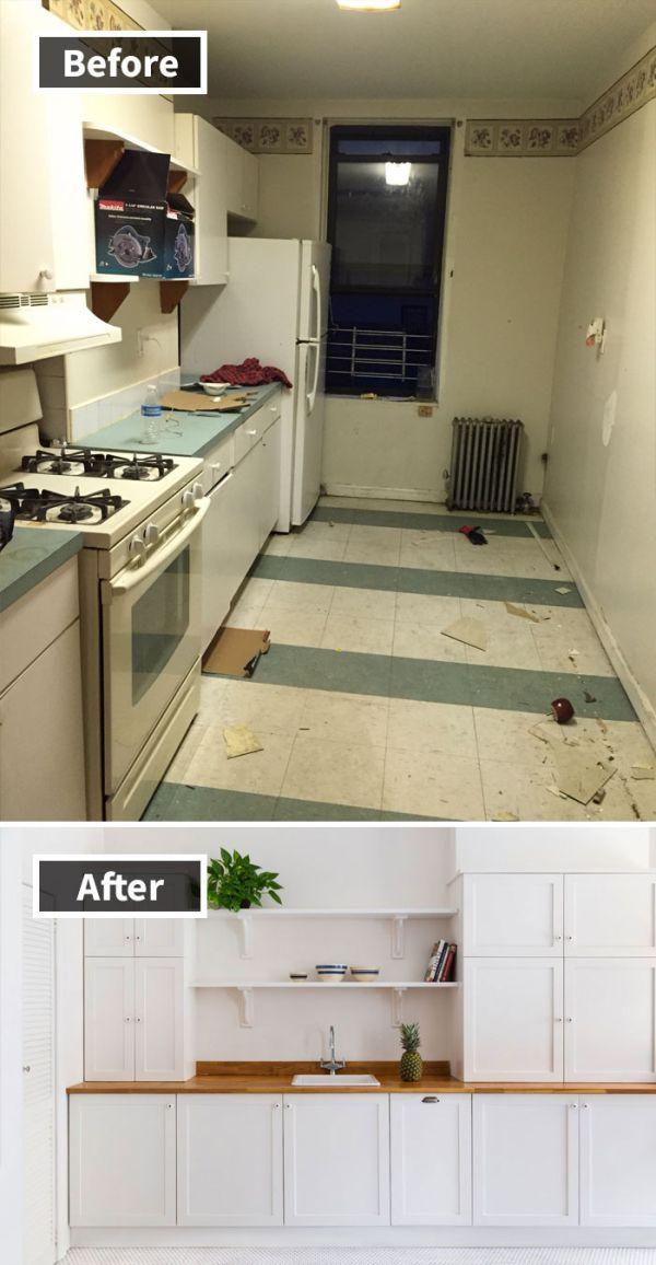 """Помещения """"до и после"""" ремонта (30 фото)"""