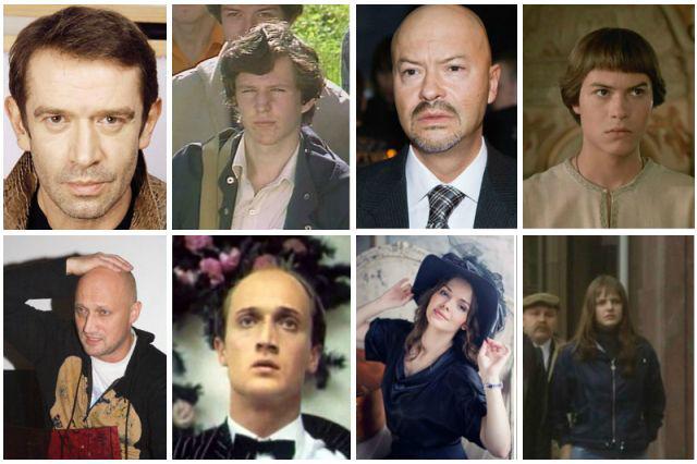 Дебютные роли звезд отечественного кинематографа (15 фото)
