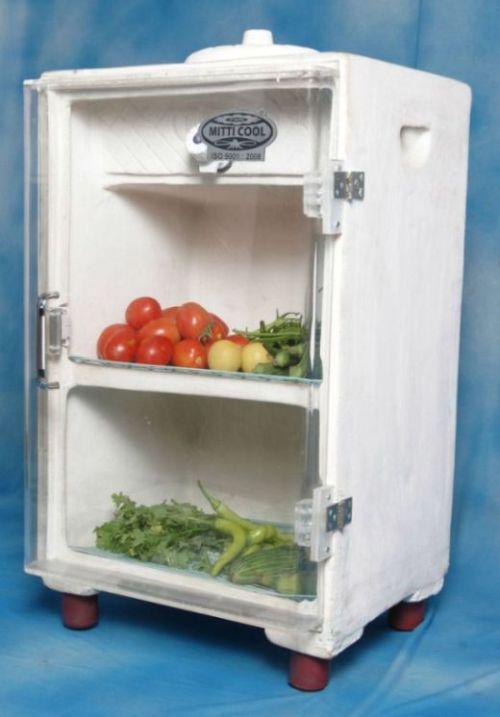 Холодильник, которому не требуется электричество (6 фото)