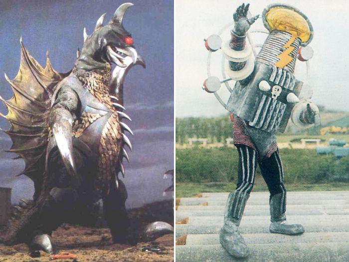 Монстры из мира старого японского кинематографа (20 фото)