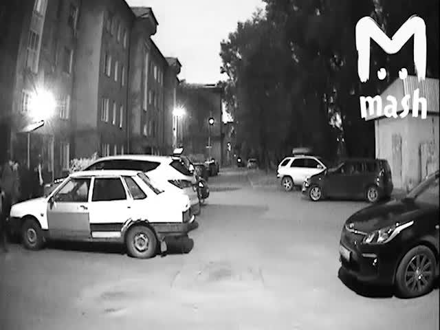 Маскарад ради угона автомобиля в Кемерово