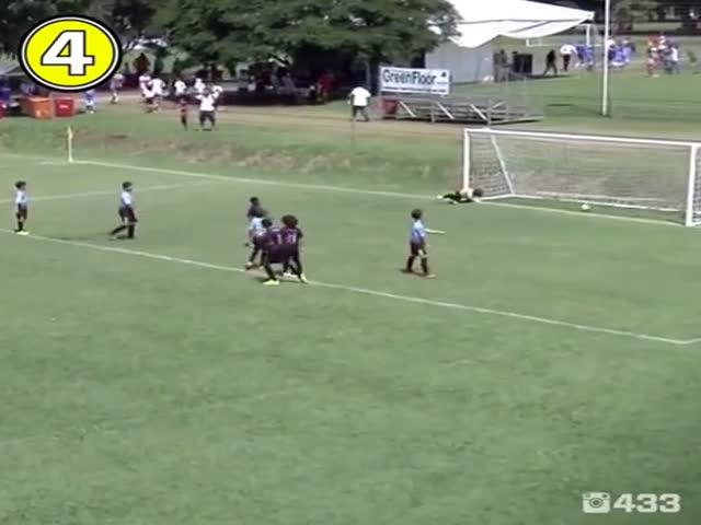 Бразильские дети, которые могут стать футбольными звездами