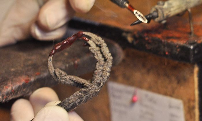 Серебряное кольцо лапы вороны (16 фото)
