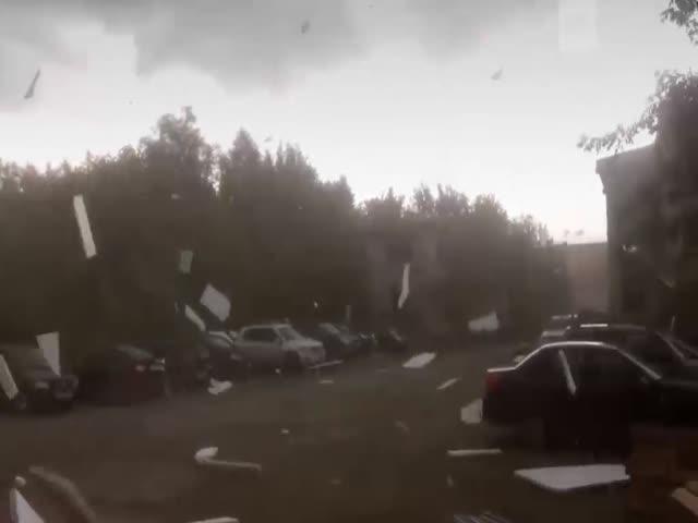 Ураган в Перми от первого лица