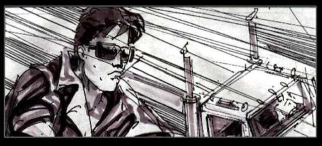 """Каким должен был стать """"Терминатор 2"""" по рисункам Джеймса Кэмерона (32 фото)"""