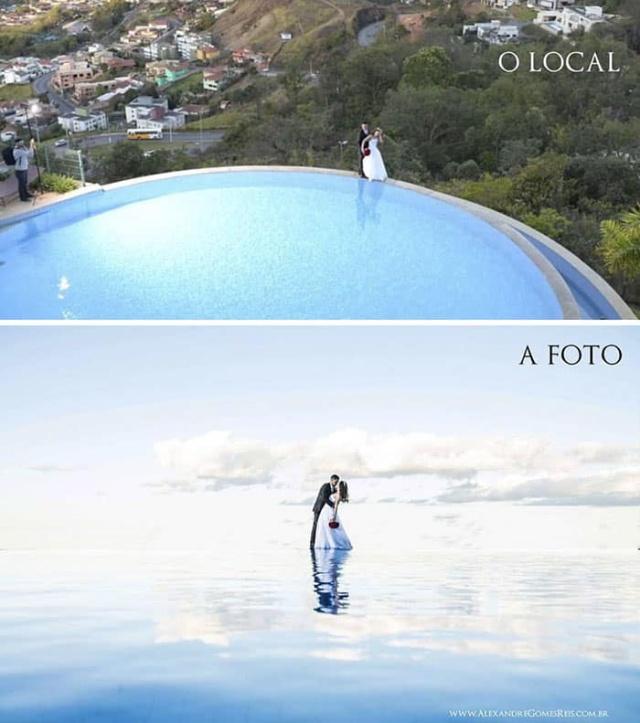 У этих гламурных фотографий есть не очень гламурная обратная сторона (18 фото)
