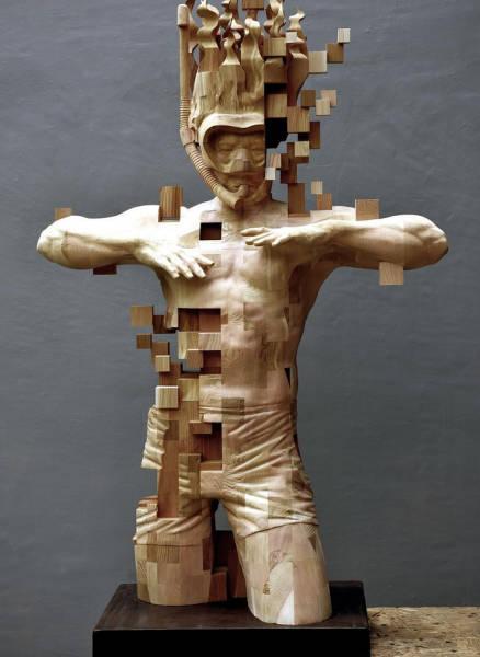Необычное и креативное современное искусство (22 фото)