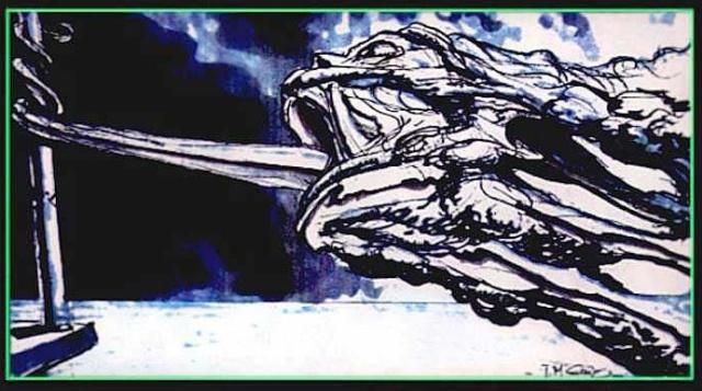 """Рисунки Джеймса Кэмерона к фильму """"Терминатор 2"""". Продолжение (46 картинок)"""